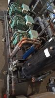 Холодильный агрегат Криолит на 70 кВт среднего холода, хладогент 404а БУ