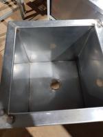 Ванна моечная 370*370 мм БУ
